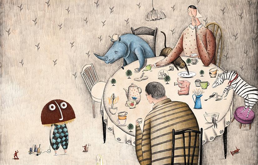 what a brilliant idea, Narjes Mohammadi, illustration, illustrator