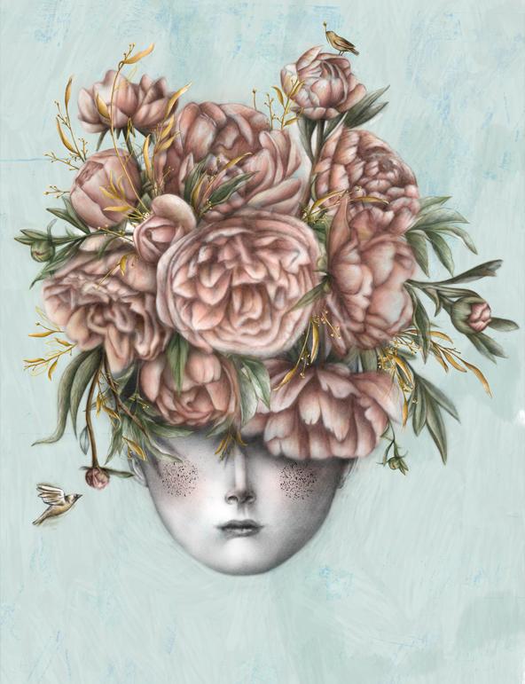 Naive Magazine, illustration, نرجس محمدی، تصویرسازی