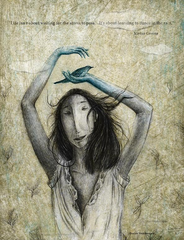 illustration, Narjes Mohammadi, تصویرسازی، نرجس محمدی